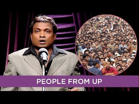 People From UP Described By Sunil Pal | B4U Comedy