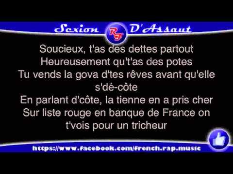 Sexion d'Assaut   J'Reste Debout Paroles) HD 2012 (Lyrics)