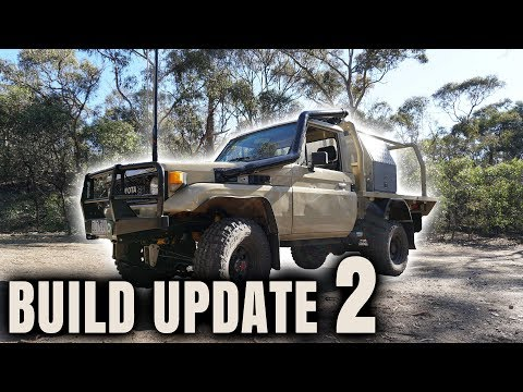 First Drive Of The 75 Series Touring Truck - Build update 2