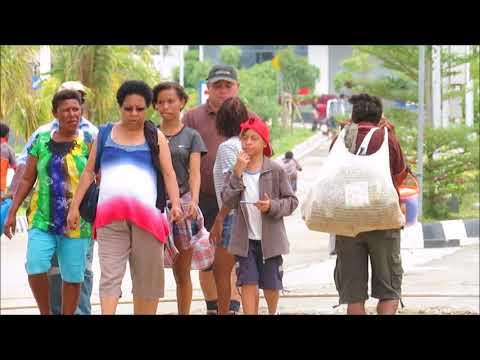 Pesona Kehidupan di PLBN Skouw Mewah Kota Jayapura, Pusat Belanja Antar Negara di Perbatasan RI -PNG