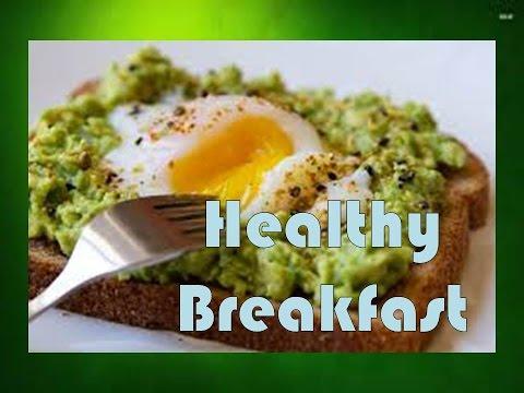 Healthy Breakfast: Eggs & Avocado Toast!