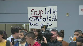 Tensions High At Cudahy Town Hall To Address Delta Fuel Dump