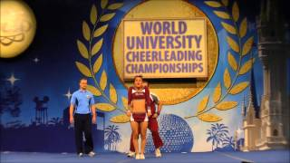 World University Championship 2013 - 1st Place Partner Stunt - Fer & Martin