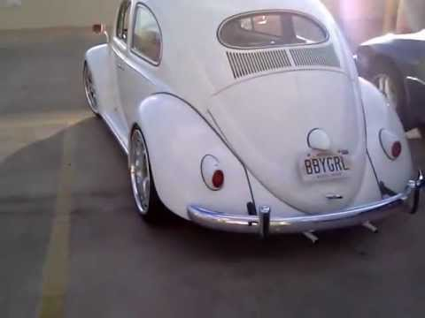 1957 vw beetle with airkewld beam and brakes