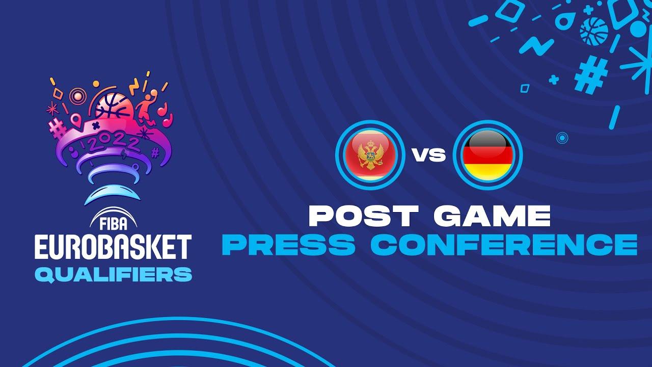 Montenegro v Germany - Press Conference