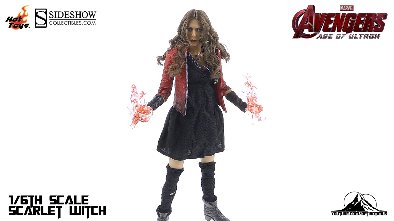 osw.zone Hot Toys Avengers Age of Ultron SCARLET WITCH Video Review by optibotimusGET YOU...