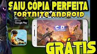Fortnite left PERFECT copy for Android + DOWNLOAD