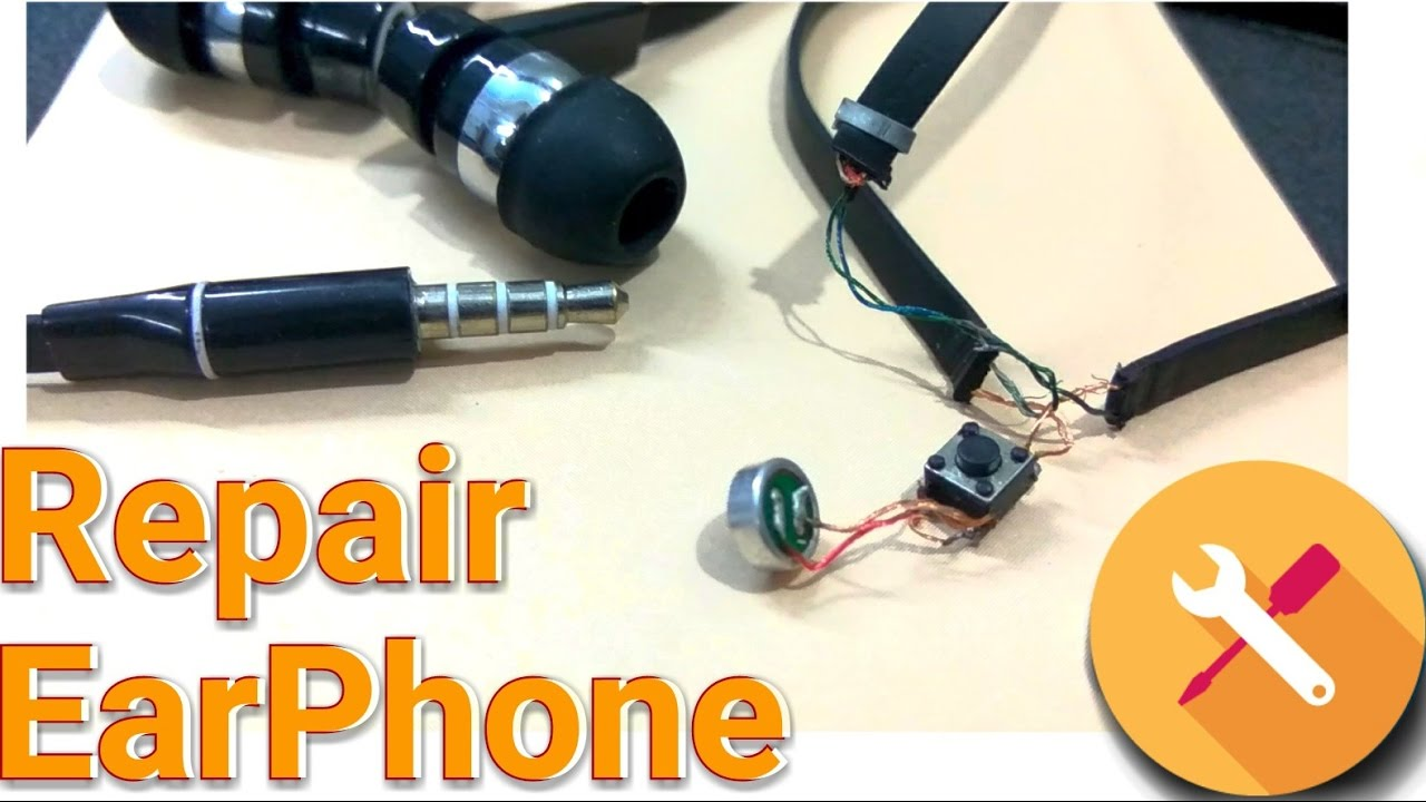 medium resolution of repair earphone how to repair easy without soldering fix headphone kespra youtube