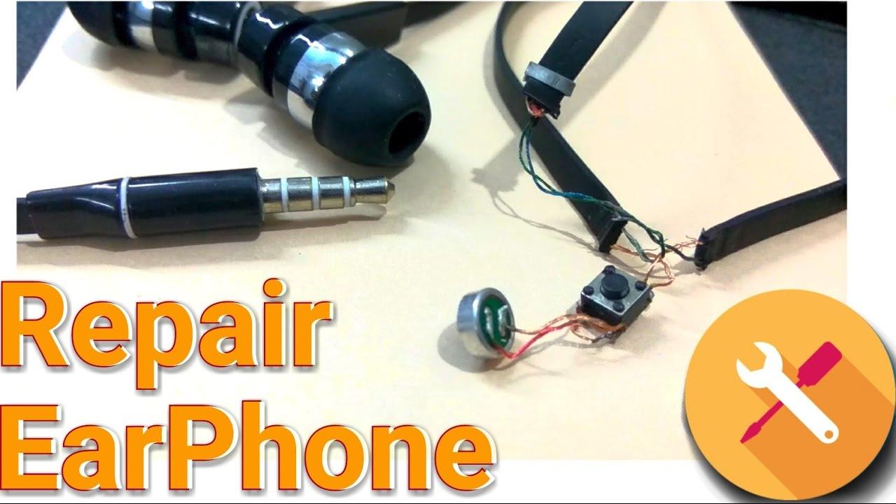 hight resolution of repair earphone how to repair easy without soldering fix headphone kespra youtube