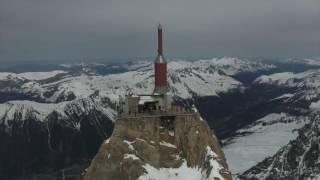 Wing Suit Jump   Aiguille du Midi   Chamonix   Mont Blanc   France