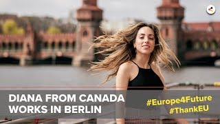 Chance Europe | Working in Germany | #Europe4Future #ThankEU