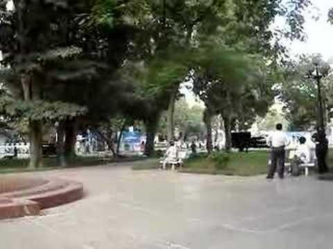 Bush motorcade in Hanoi