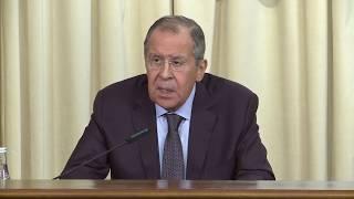 Пресс-конференция по итогам заседания Совета министров иностранных дел СНГ