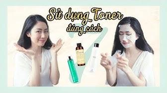 TẬP 7: Sử dụng TONER hiệu quả | Toner Essentials (part2) - 7 effective ways to apply toner