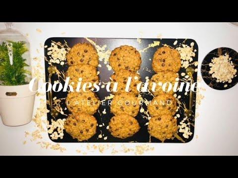 cookies-à-l'avoine-et-chocolat,-rapide-et-facile