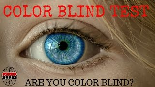 color blind test - color blind test - can you actually see all the colors?