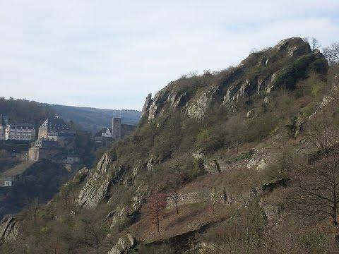 Klettersteig Nochern : Mittelrheinsteig rabenacksteig st. goarshausen am 5.12.2015 youtube