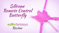Silicone remote control butterfly | Strap-On Vibrator Review