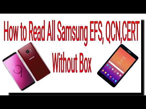 Samsung Backup tool read efs qcn cert all model 2019 100% tested