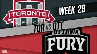 Toronto FC II vs Ottawa Fury FC: September 26, 2018