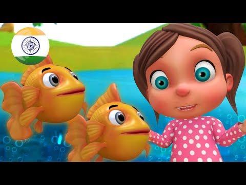 Machli Jal Ki Rani Hai | Hindi Poems | मछली जल की रानी है | Rhymes in Hindi by LittleTreehouse - Как поздравить с Днем Рождения