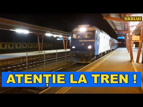 Tren de noapte Gara CFR Vaslui 2019 (Romanian Railways)