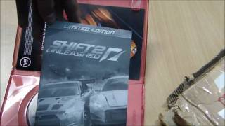 NFS Shift 2: Unleashed [PC] Unboxing
