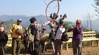 Nepal Panche Baja group Tallo Baleu Syangja.