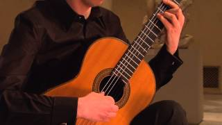 Mattias Jacobsson plays Come, Heavy Sleep (Molto Tranquillo) by Benjamin Britten