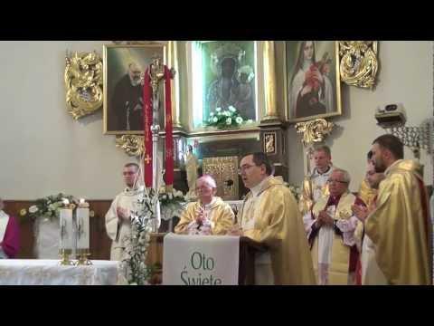 Rozpoczęcie Eucharystii - Wołczyn święcenia