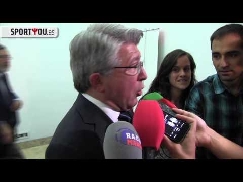 """Enrique Cerezo: """"En el Atlético de Madrid estarán quienes quieran estar"""""""