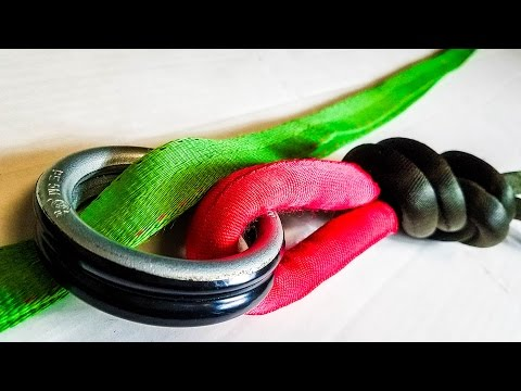 Highline Leashes 102 -  Installing and Tying In