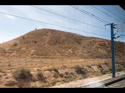 Train from Barcelona to Madrid | Casellas Do Spain 2017
