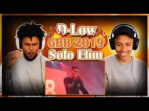 D-LOW | Grand Beatbox Battle 2019 | Solo Elimination || REACTION ||