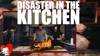 Disaster in the Kitchen LIVE - Epic Meal Time