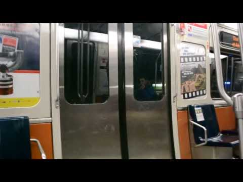 MONTREAL METRO RIDE - NO STOP AT LIONEL-GROULX STATION