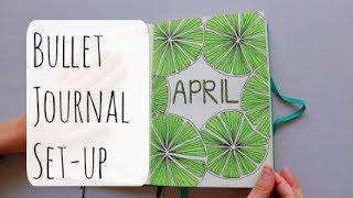 Plan With Me: April 2018 Bullet Journal Setup | Brandi Noelle