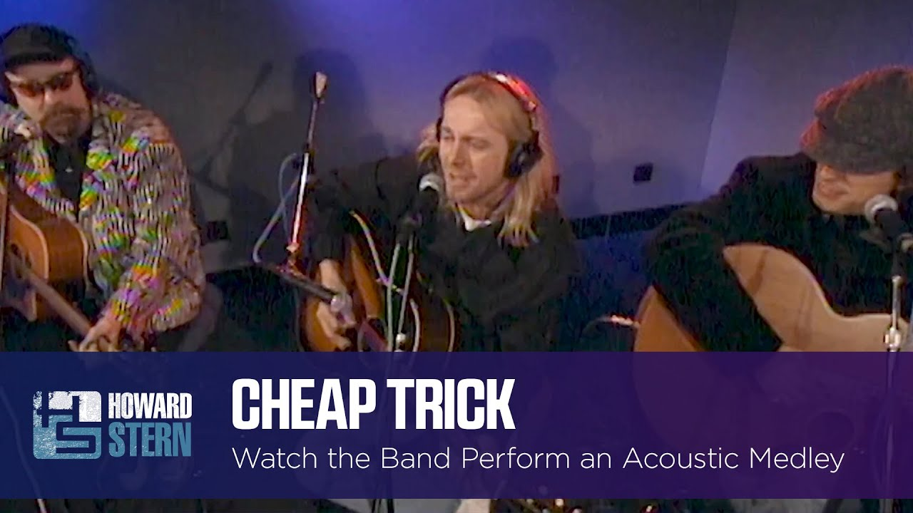 Cheap Trick Plays an Acoustic Medley on the Stern Show (1996)