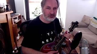 My Love Is In America (reel) on mandolin