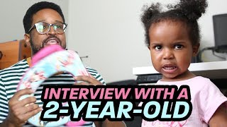 Interview With A 2-Year-Old | Toddlers DON'T LISTEN!