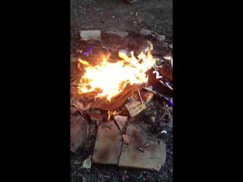 burning ray rice jersey