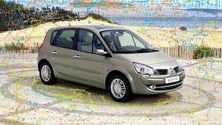 Замена фильтра салона и очистка воздуховода автомобиля Renault Scenic