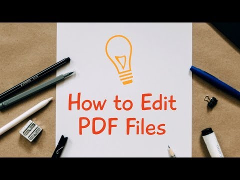 How To Edit A PDF File In Adobe Reader