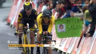 Велоспорт  Тур де Франс  1 й этап 4 часть