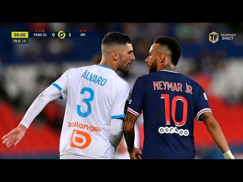 PSG 0-1 OM • Grand Format d'un classico ÉLECTRIQUE, 5 cartons ROUGES ! • 2020-21 •  Téléfoot HD