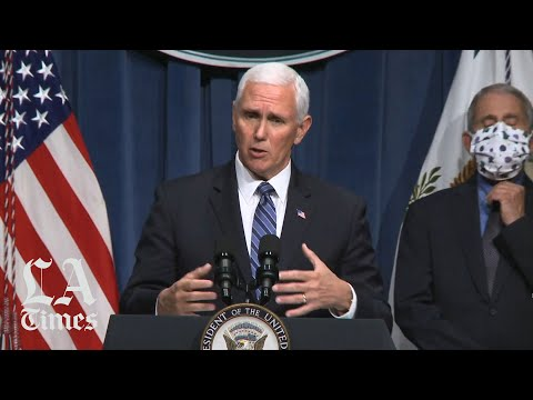White House coronavirus task force briefing urges caution among younger groups