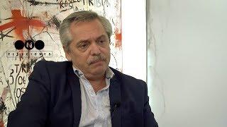 """Entrevista a ALBERTO FERNÁNDEZ: """"Le pido a MACRI renegociar con el FMI"""""""