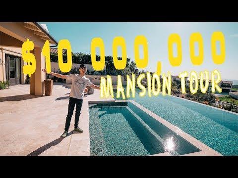 入住$10,000,000 海景豪宅 — $10 Million Mansion Tour!