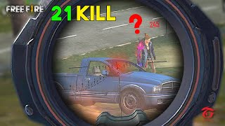 Again 21 Kill in Solo vs Squad Game Must Watch Gameplay - Garena Free Fire