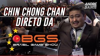Chin Chong Chan direto da Brasil Game Show!